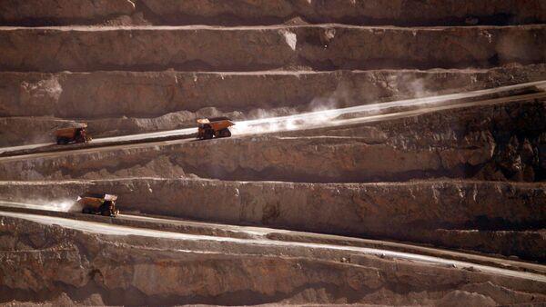 Minera La Escondida - Sputnik Mundo