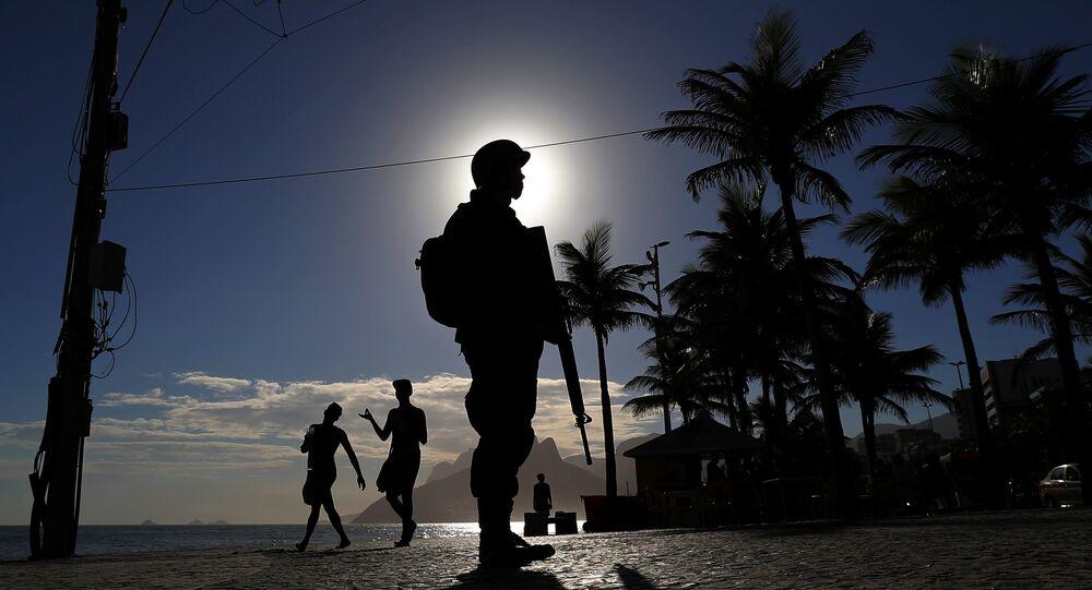 Un militar brasileño (Archivo)