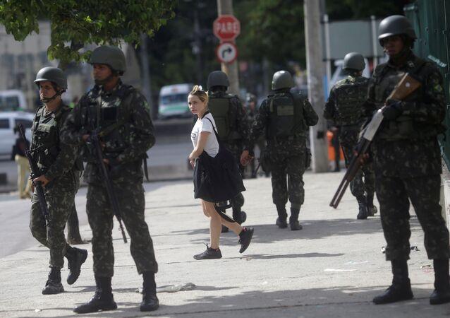 Militares brasileños (imagen referencial)