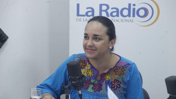 Gabriela Rivadeneira, presidenta de la Asamblea de Ecuador - Sputnik Mundo