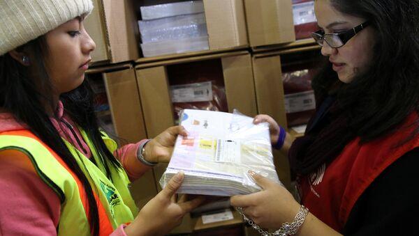 Preparación para las elecciones en Ecuador - Sputnik Mundo