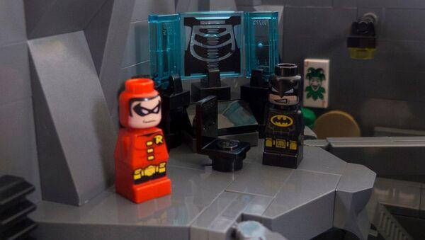Batcave de Lego - Sputnik Mundo
