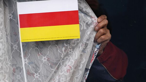 Предвыборная агитация кандидатов в президенты Южной Осетии в Цхинвале - Sputnik Mundo