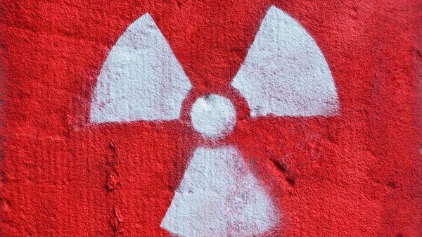 Señal de advertencia de la contaminación radiactiva - Sputnik Mundo