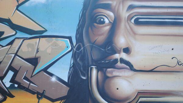 El graffiti de Salvador Dalí - Sputnik Mundo