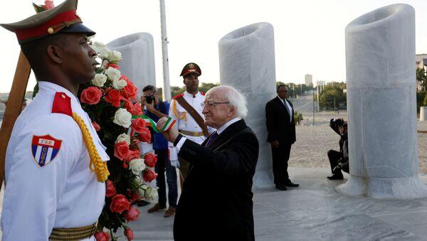 Presidente de Irlanda, Michael D. Higgins en La Habana - Sputnik Mundo
