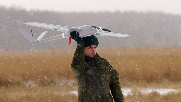 Dron ruso Orlán-10 - Sputnik Mundo