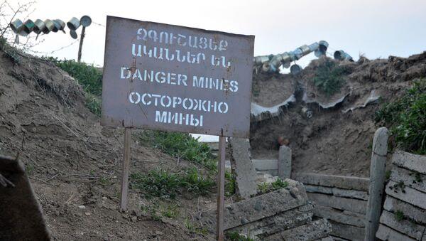 La situación en Nagorno Karabaj (archivo) - Sputnik Mundo