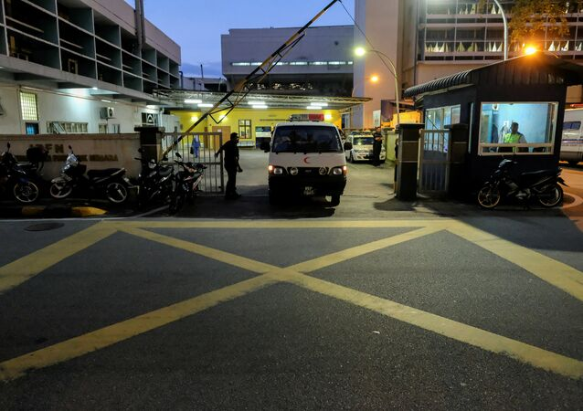 La morgue en el Hospital General de Kuala Lumpur
