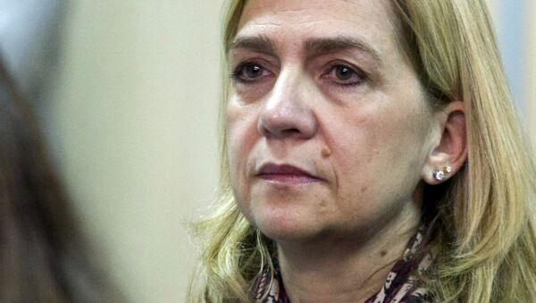 Cristina de Borbón y Grecia, infanta de España - Sputnik Mundo