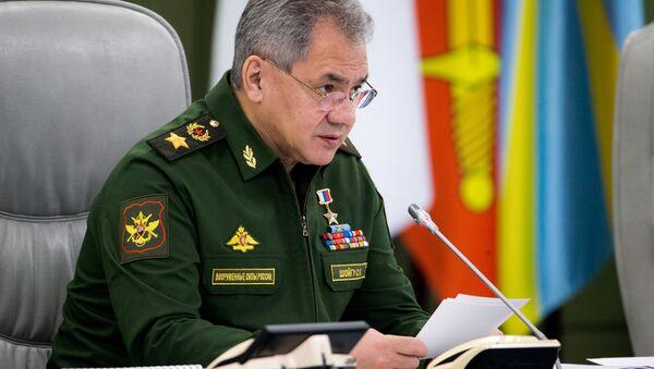 Ministro de Defensa ruso, Serguéi Shoigú - Sputnik Mundo