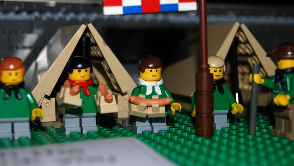 Scouts de Lego (imagen referencial) - Sputnik Mundo