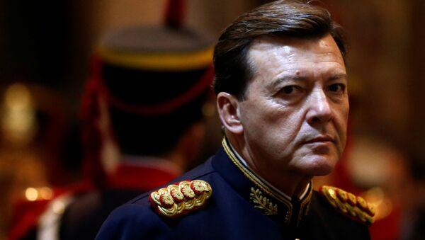 El exjefe del ejército de Argentina, César Milani - Sputnik Mundo