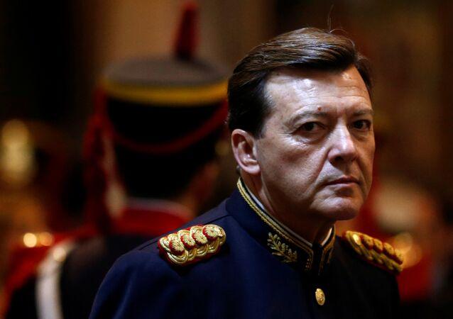 César Milani, exjefe argentino del Ejército (archivo)
