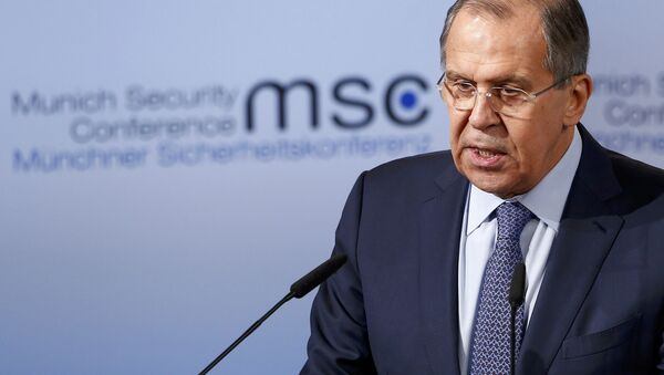 Ministro de Exteriores ruso, Serguéi Lavrov - Sputnik Mundo