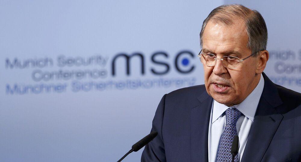 Ministro de Exteriores ruso, Serguéi Lavrov