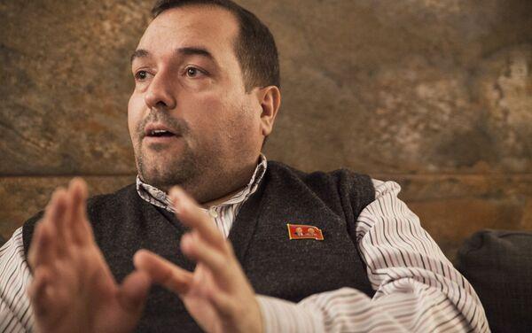 Alejandro Cao de Benós durante su entrevista con Sputnik. - Sputnik Mundo