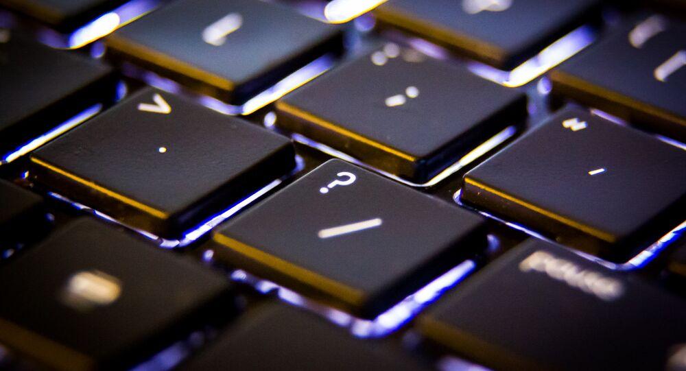 El teclado de un ordenador