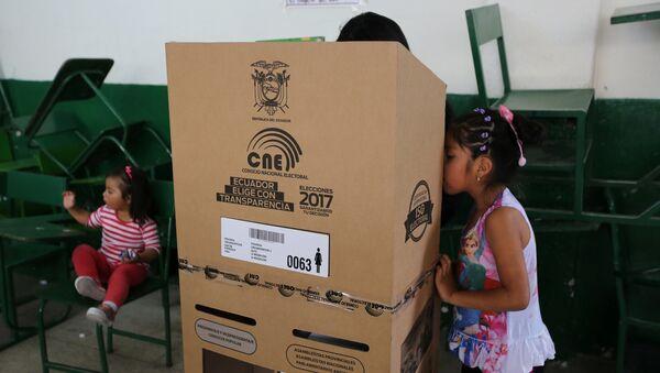 Elecciones presidenciales en Ecuador (archivo) - Sputnik Mundo