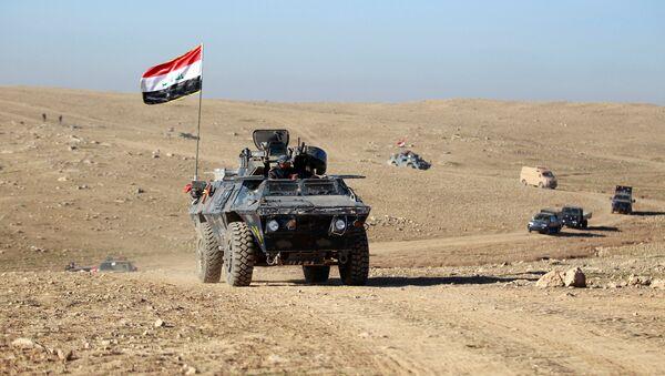 Soldados del Ejército iraquí en Mosul - Sputnik Mundo