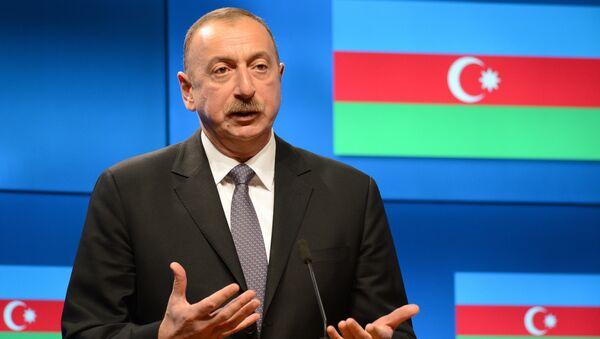 Ilham Aliyev, presidente azerbaiyano - Sputnik Mundo