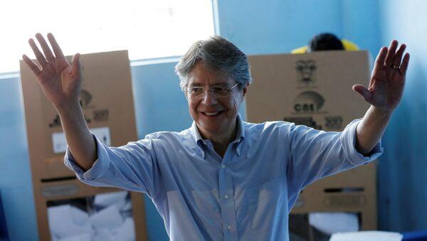 Guillermo Lasso, candidato a la presidencia de Ecuador - Sputnik Mundo