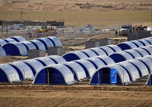 Campamento de refugiados en el sur de Irak (archivo)