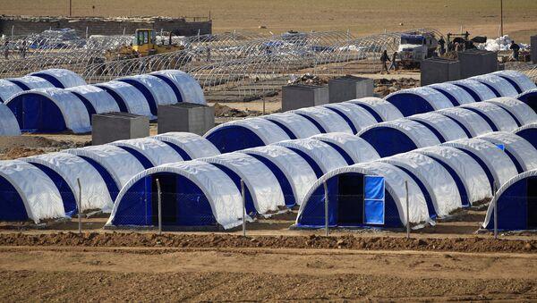Campamento de refugiados en el sur de Irak - Sputnik Mundo