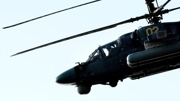 Helicóptero ruso Ka-52 - Sputnik Mundo