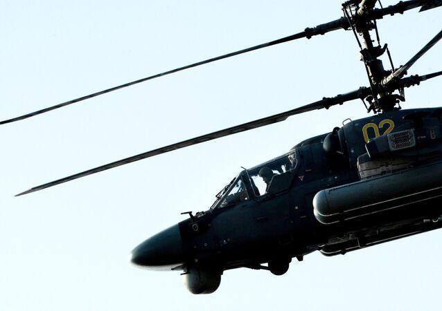 Helicóptero ruso Ka-52