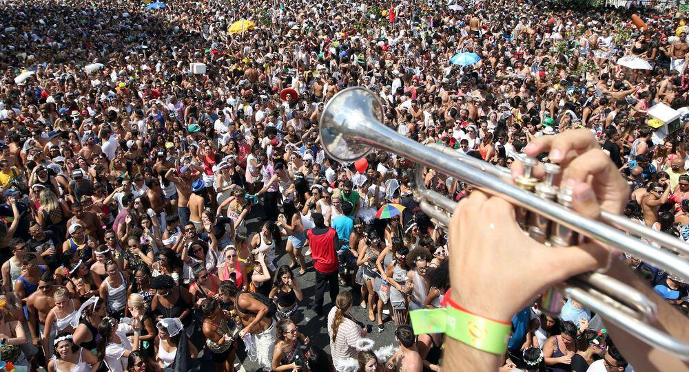 Carnaval en Sao Paulo