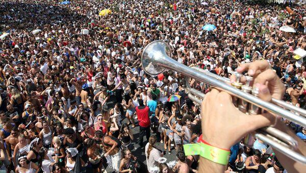 Carnaval en Sao Paulo - Sputnik Mundo