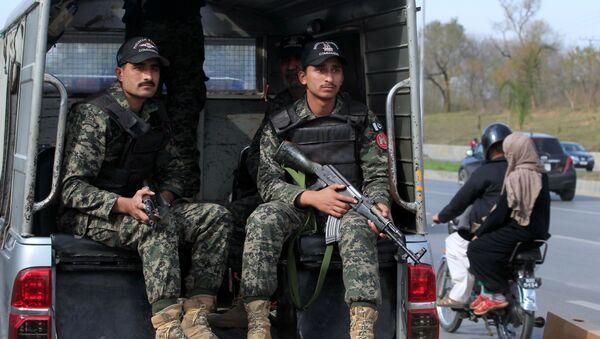 La policía de Pakistán (archivo) - Sputnik Mundo
