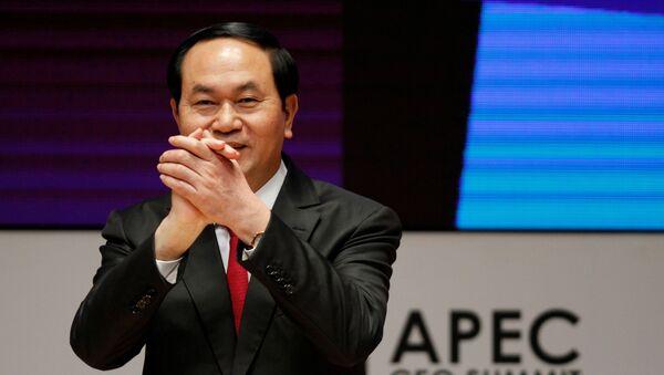 Tran Dai Quang, el presidente de Vietnam - Sputnik Mundo