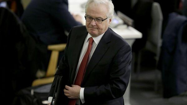 El fallecido Vitali Churkin, embajador permanente de Rusia ante la ONU - Sputnik Mundo