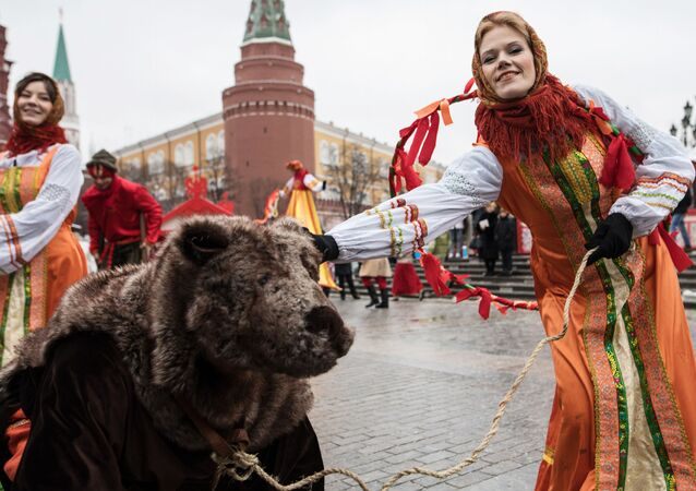 Fiesta de la Máslenitsa en Rusia