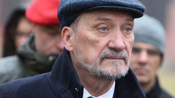 Antoni Macierewicz, ministro de Defensa de Polonia - Sputnik Mundo