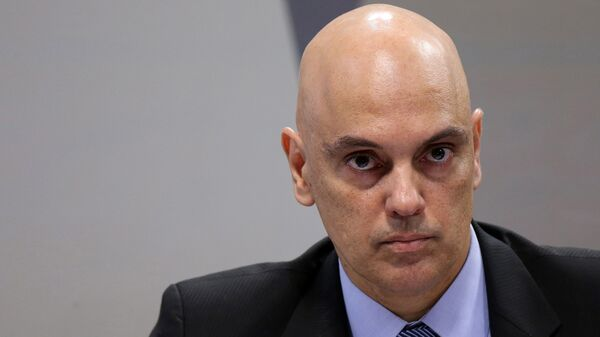 Alexandre de Moraes, juez del Tribunal Supremo Federal de Brasil - Sputnik Mundo