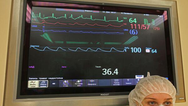 Работа Центра сердечно-сосудистой хирургии в Калининграде - Sputnik Mundo