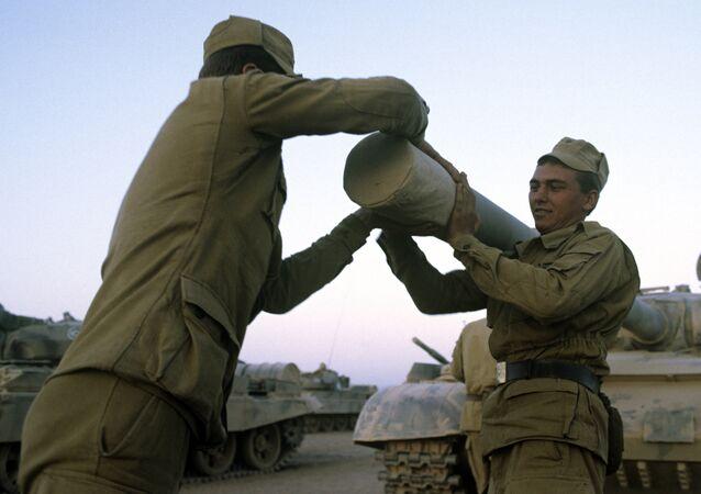 Militares soviéticos en Afganistán
