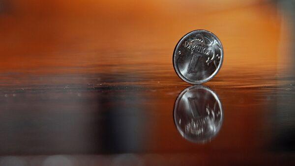 Moneda rusa (archivo ruso) - Sputnik Mundo