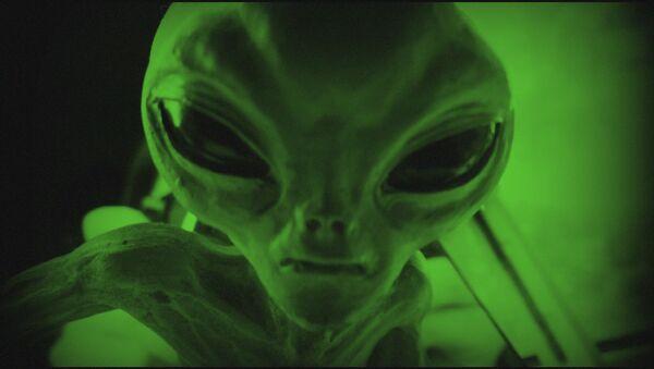 Un alienígena (ilustración) - Sputnik Mundo