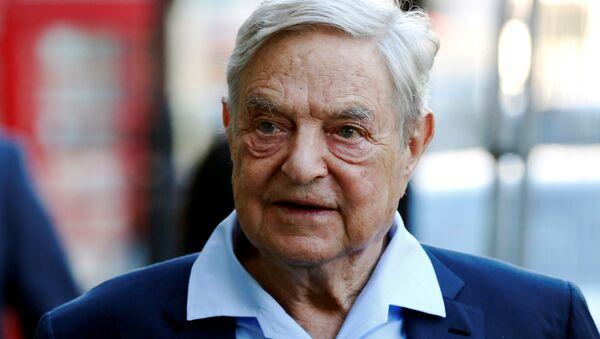 George Soros, multimillonario estadounidense (archivo) - Sputnik Mundo
