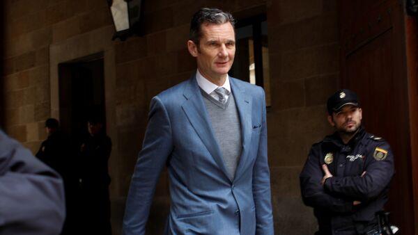 El cuñado del Rey de España, Iñaki Urdangarin - Sputnik Mundo