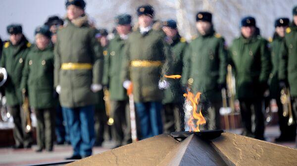 День защитника Отечества в городах России - Sputnik Mundo