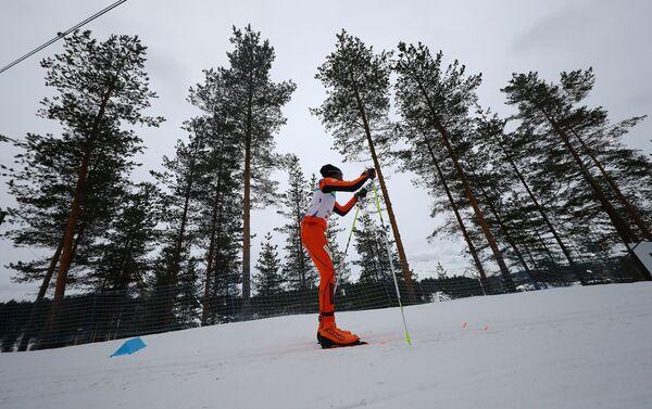 Adrian Solano participa en el Campeonato Mundial de Esquí Lahti 2017, en Suecia - Sputnik Mundo