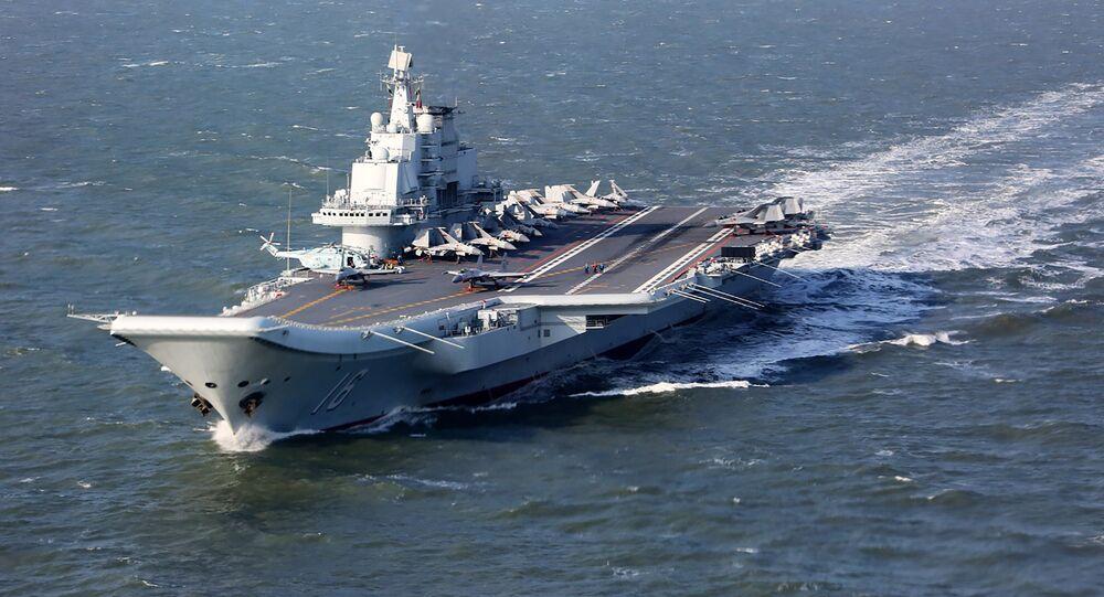 El portaviones chino Liaoning (archivo)