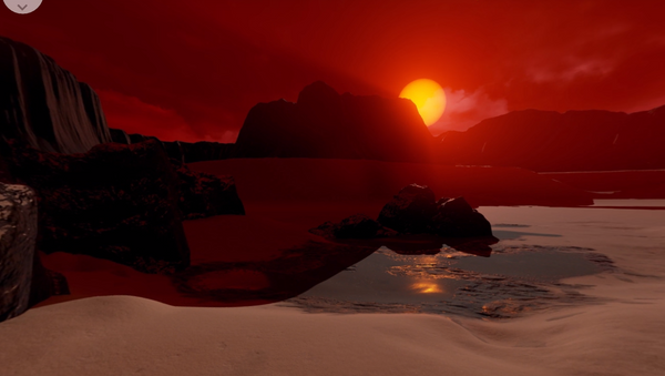 Exoplaneta Trappist-1d - Sputnik Mundo