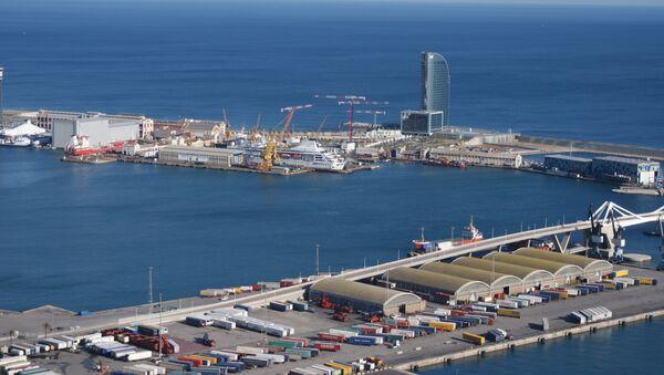 Puerto de Barcelona - Sputnik Mundo