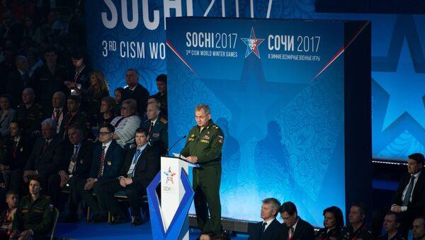 Ceremonia de apertura de los  Juegos Militares Mundiales en Sochi - Sputnik Mundo